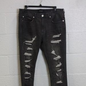 High rise Pacsun distressed skinny jeans